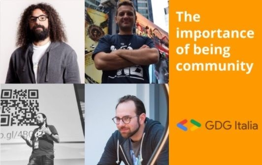 GDG Italia - The importance of being community
